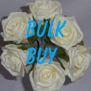 BULK BUY Foam Flowers